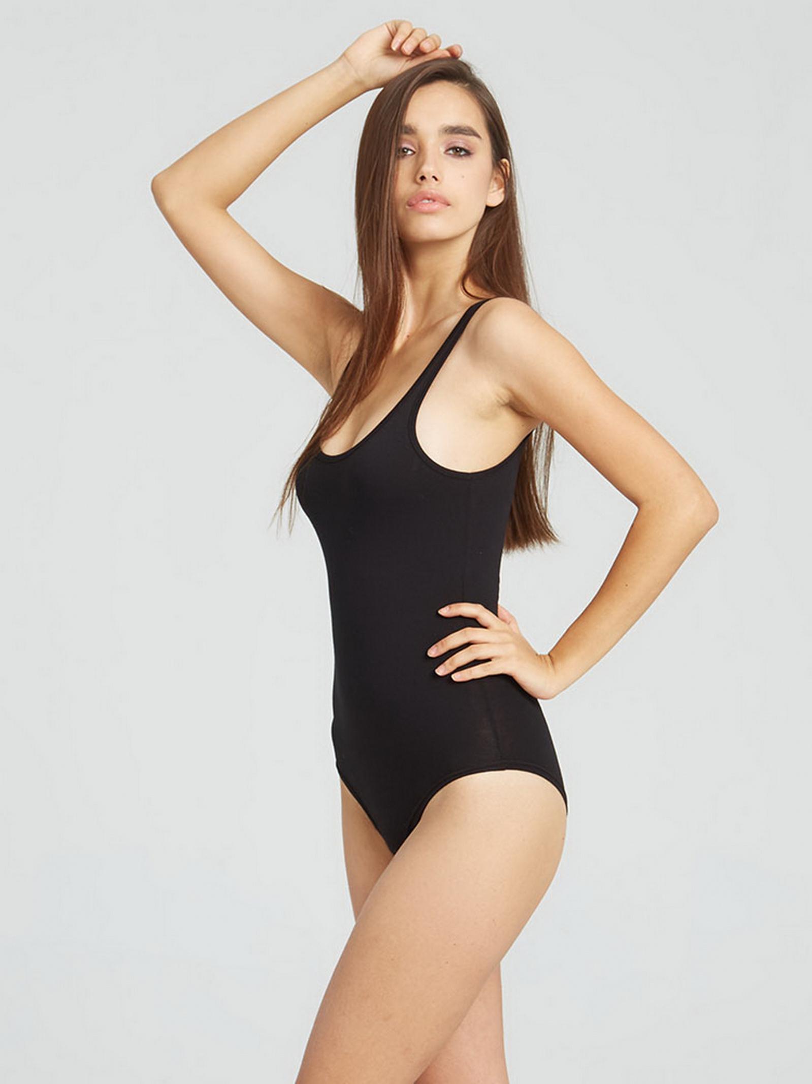 Promin Боді жіночі модель 2061-03 ЧОРНИЙ якість, 2017