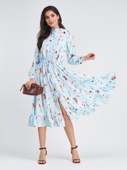ISSA Plus Сукня жіночі модель 11339_голубой відгуки, 2017