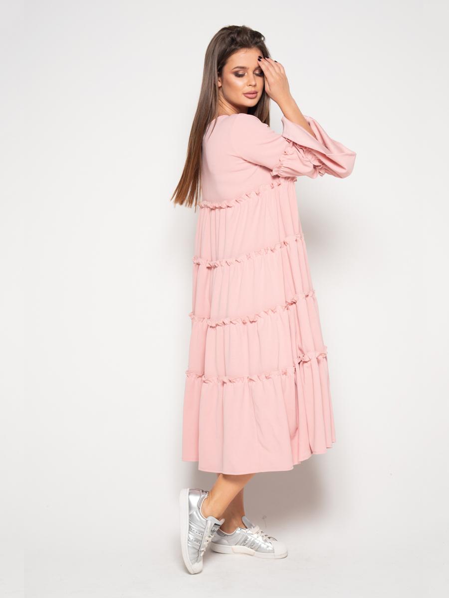ISSA Plus Сукня жіночі модель 10389_розовый ціна, 2017
