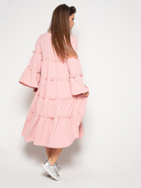 ISSA Plus Сукня жіночі модель 10389_розовый відгуки, 2017