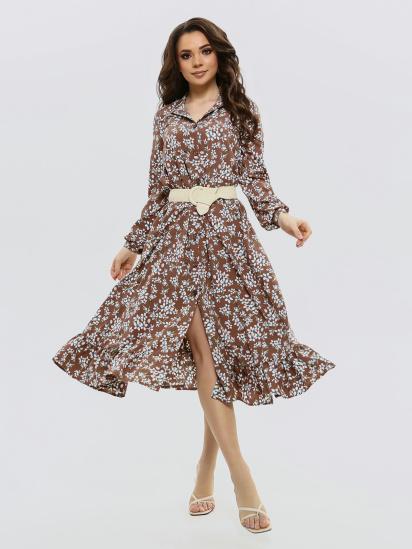 ISSA Plus Сукня жіночі модель 11564_коричневый придбати, 2017