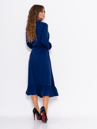 ISSA Plus Сукня жіночі модель 10994_синий відгуки, 2017