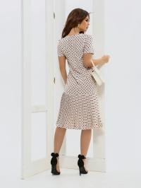 ISSA Plus Сукня жіночі модель 11572_бежевый відгуки, 2017