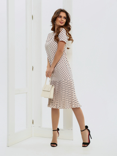ISSA Plus Сукня жіночі модель 11572_бежевый ціна, 2017