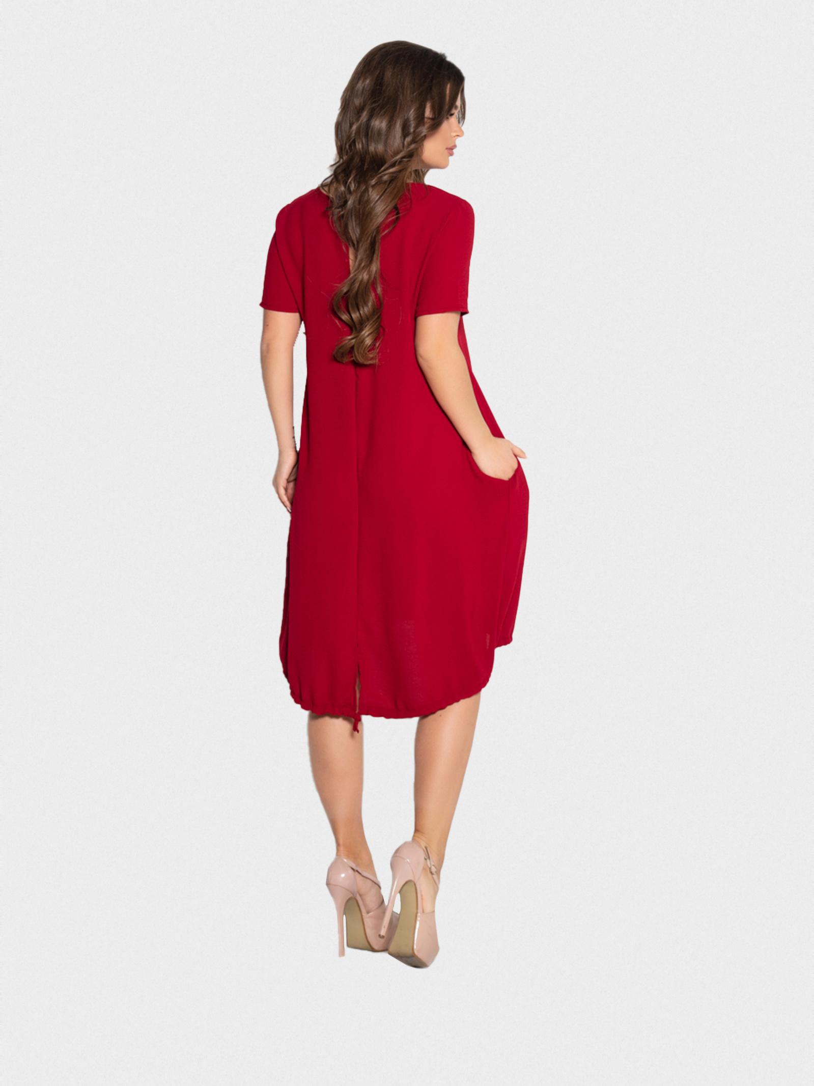 ISSA Plus Сукня жіночі модель 10497_бордовый ціна, 2017