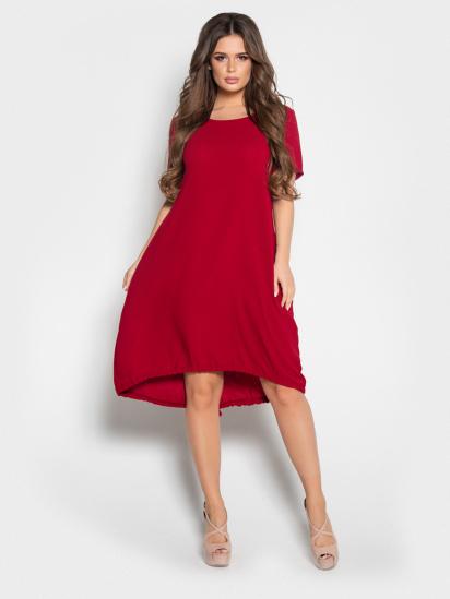 ISSA Plus Сукня жіночі модель 10497_бордовый відгуки, 2017