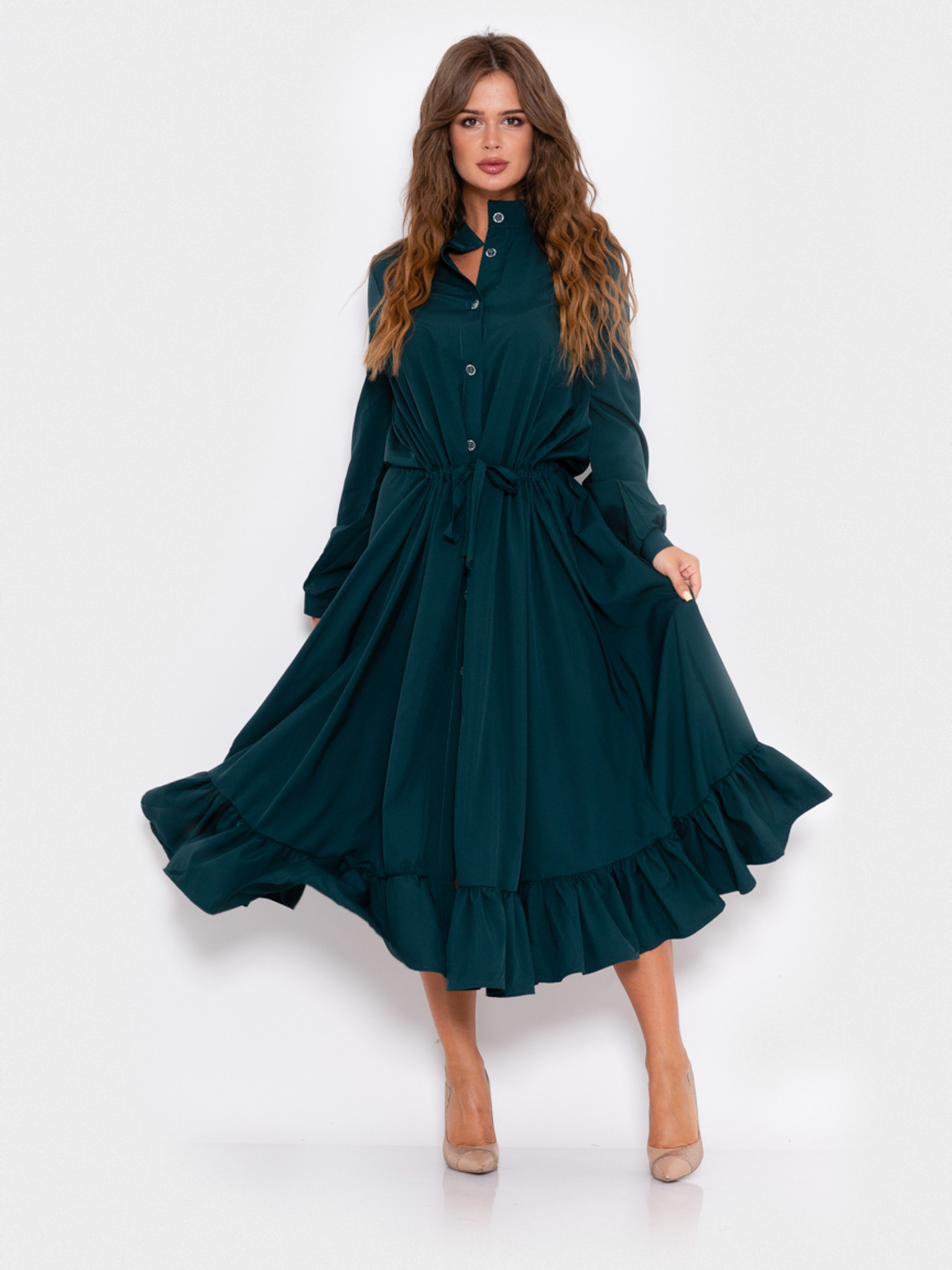 ISSA Plus Сукня жіночі модель 10994_зеленый відгуки, 2017