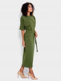 ISSA Plus Сукня жіночі модель 10177_хаки , 2017