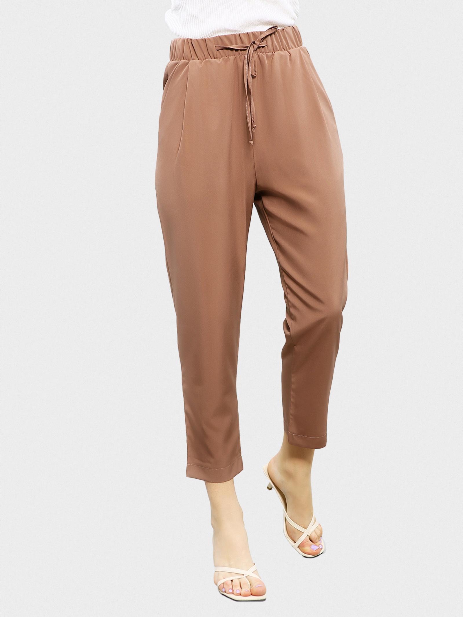 ISSA Plus Брюки жіночі модель 11600_светло-коричневый купити, 2017