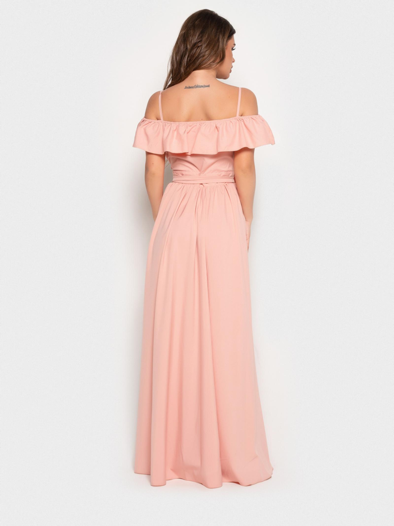 ISSA Plus Сукня жіночі модель 10816_персиковый , 2017