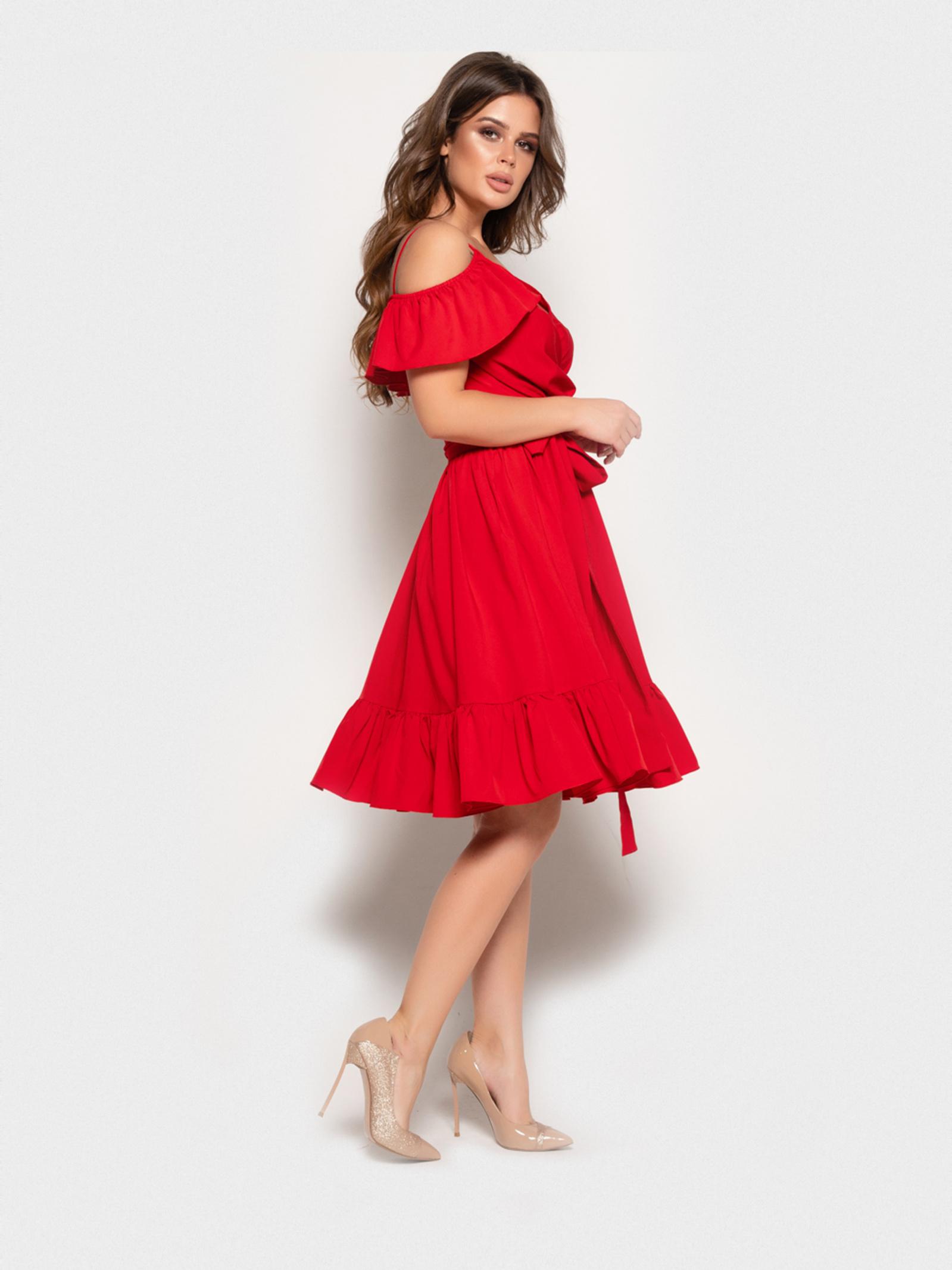 ISSA Plus Сукня жіночі модель 10824_красный ціна, 2017