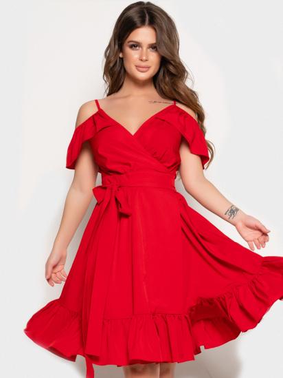 ISSA Plus Сукня жіночі модель 10824_красный відгуки, 2017