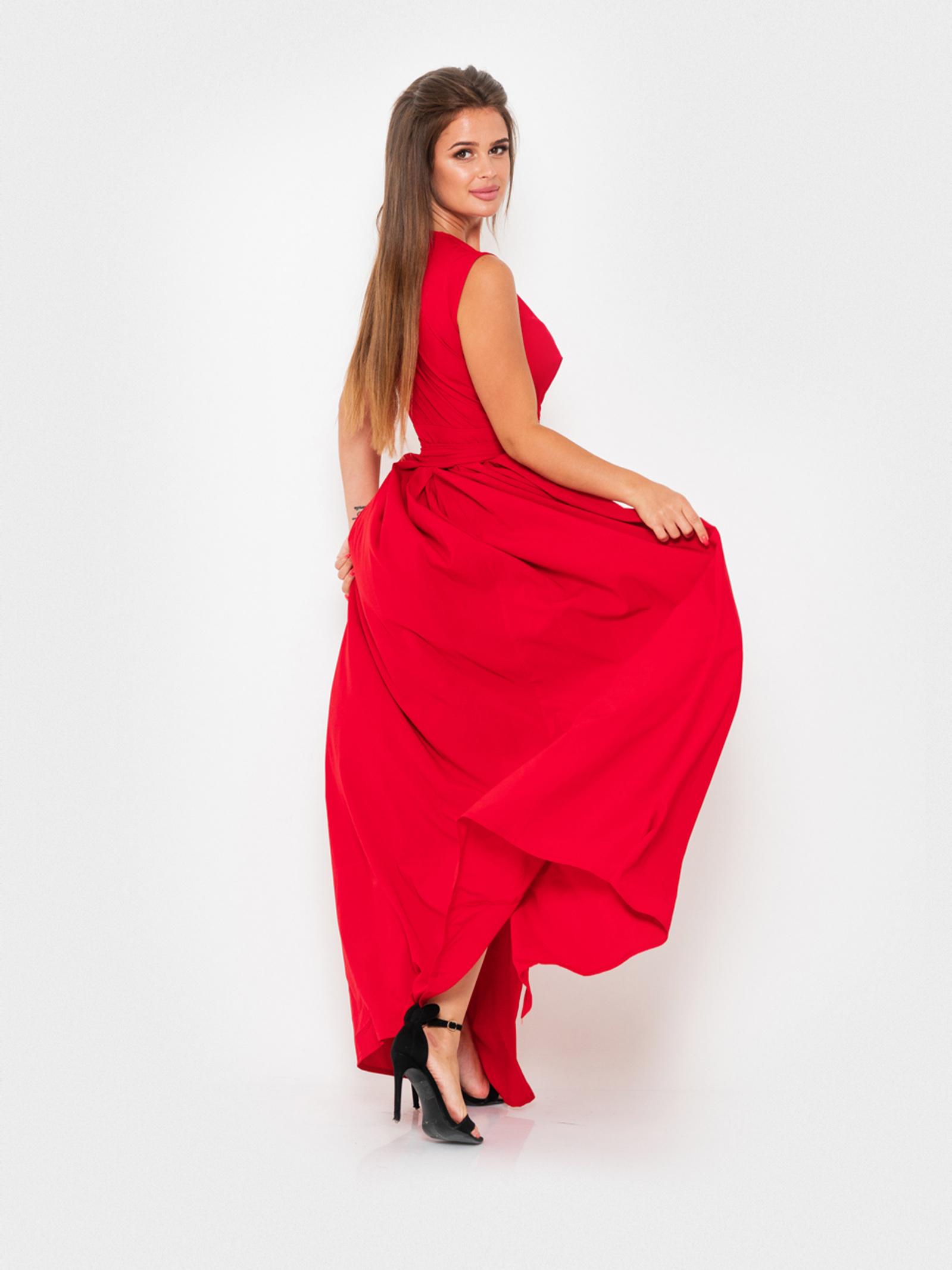 ISSA Plus Сукня жіночі модель 10909_красный відгуки, 2017