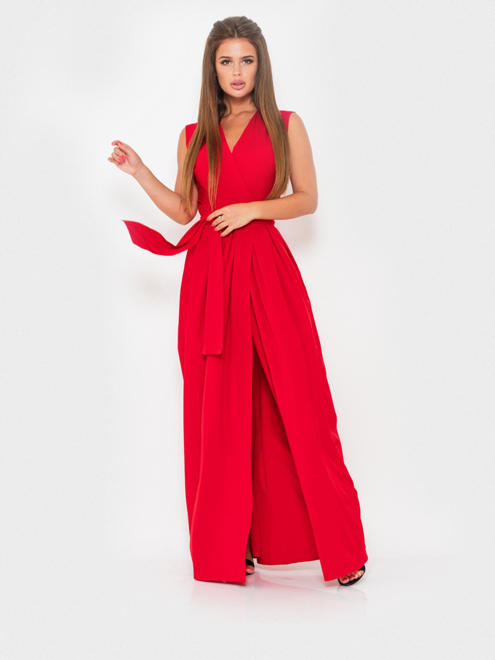 ISSA Plus Сукня жіночі модель 10909_красный ціна, 2017