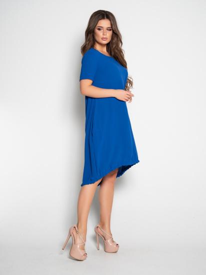 ISSA Plus Сукня жіночі модель 10497_синий відгуки, 2017