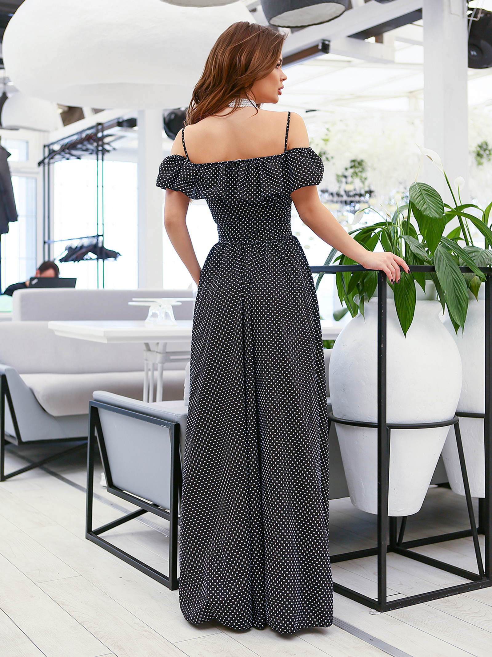 ISSA Plus Сукня жіночі модель 11633_черный відгуки, 2017