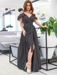 Сукня жіноча ISSA Plus модель 11633_черный - фото
