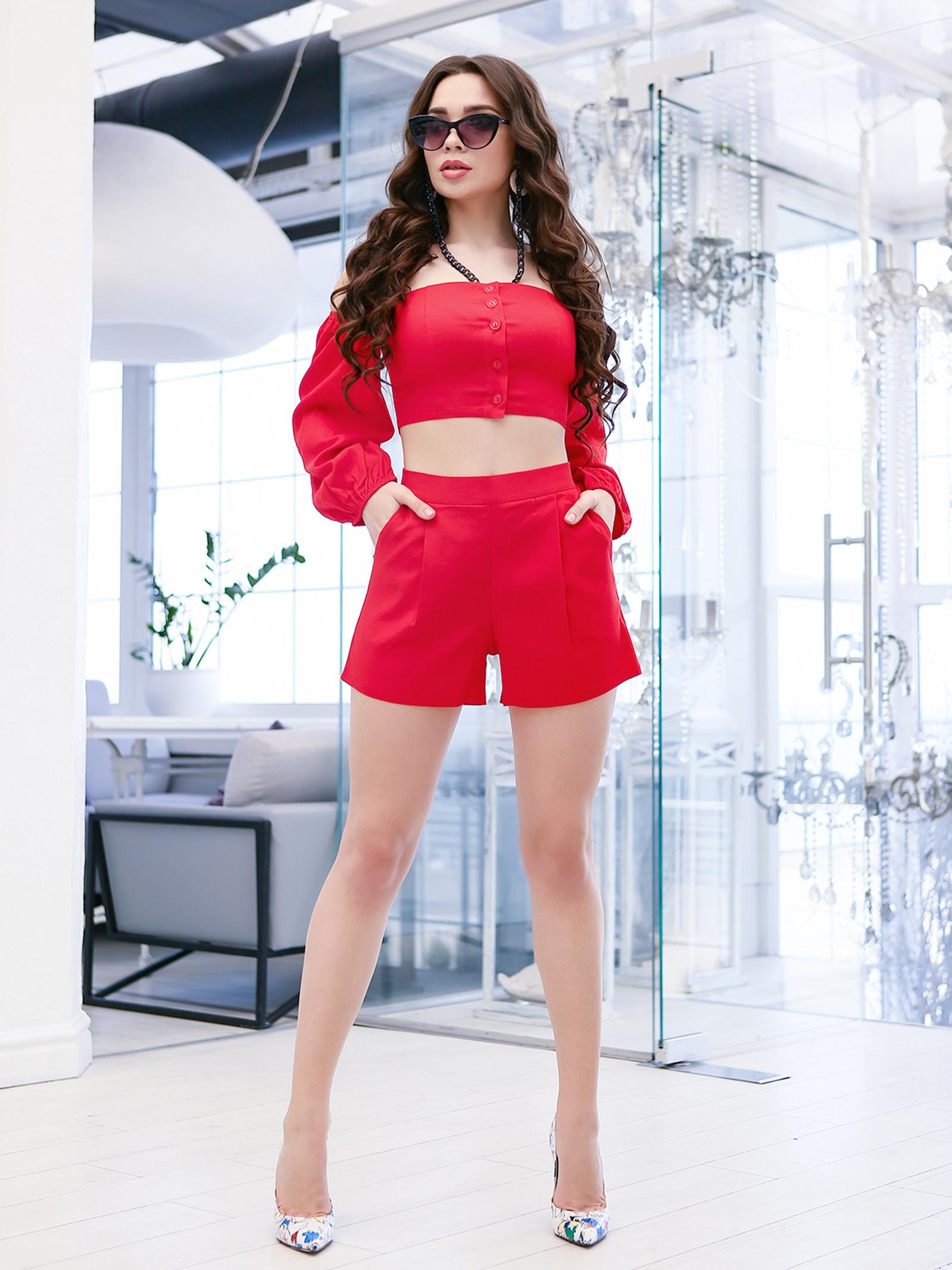 ISSA Plus Костюм жіночі модель 11620_красный відгуки, 2017