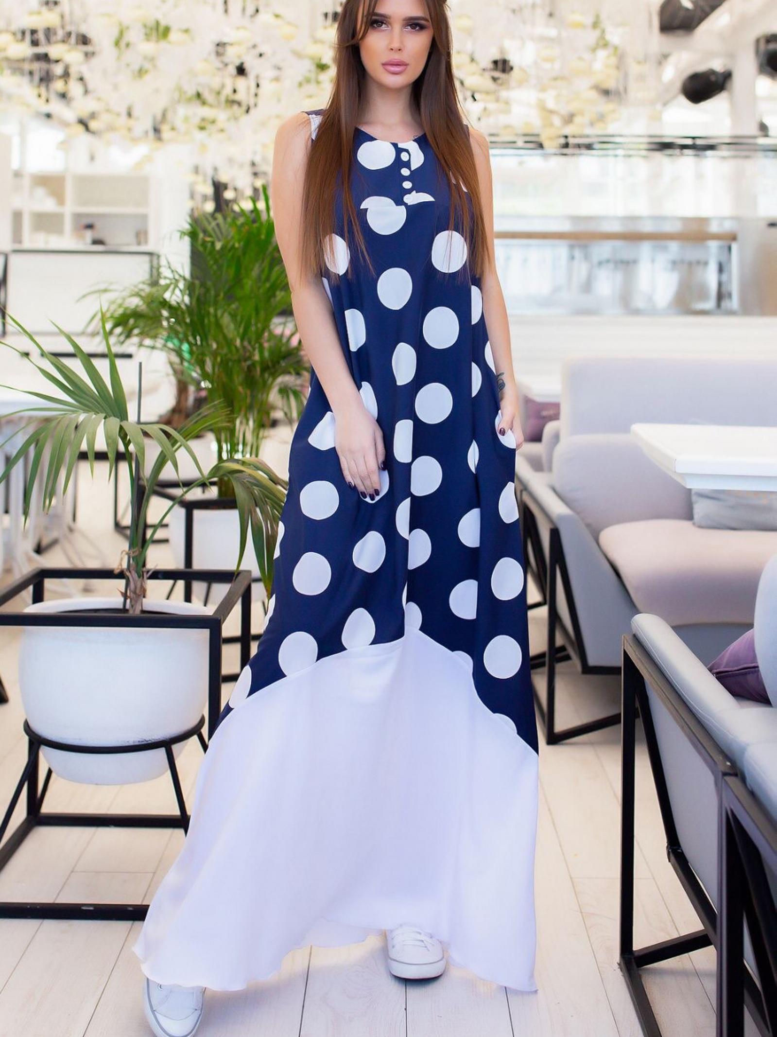 ISSA Plus Сукня жіночі модель 11656_темно-синий , 2017