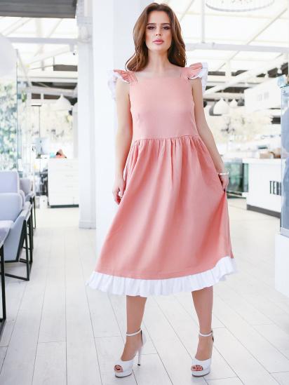 ISSA Plus Сукня жіночі модель 11646_персиковый придбати, 2017