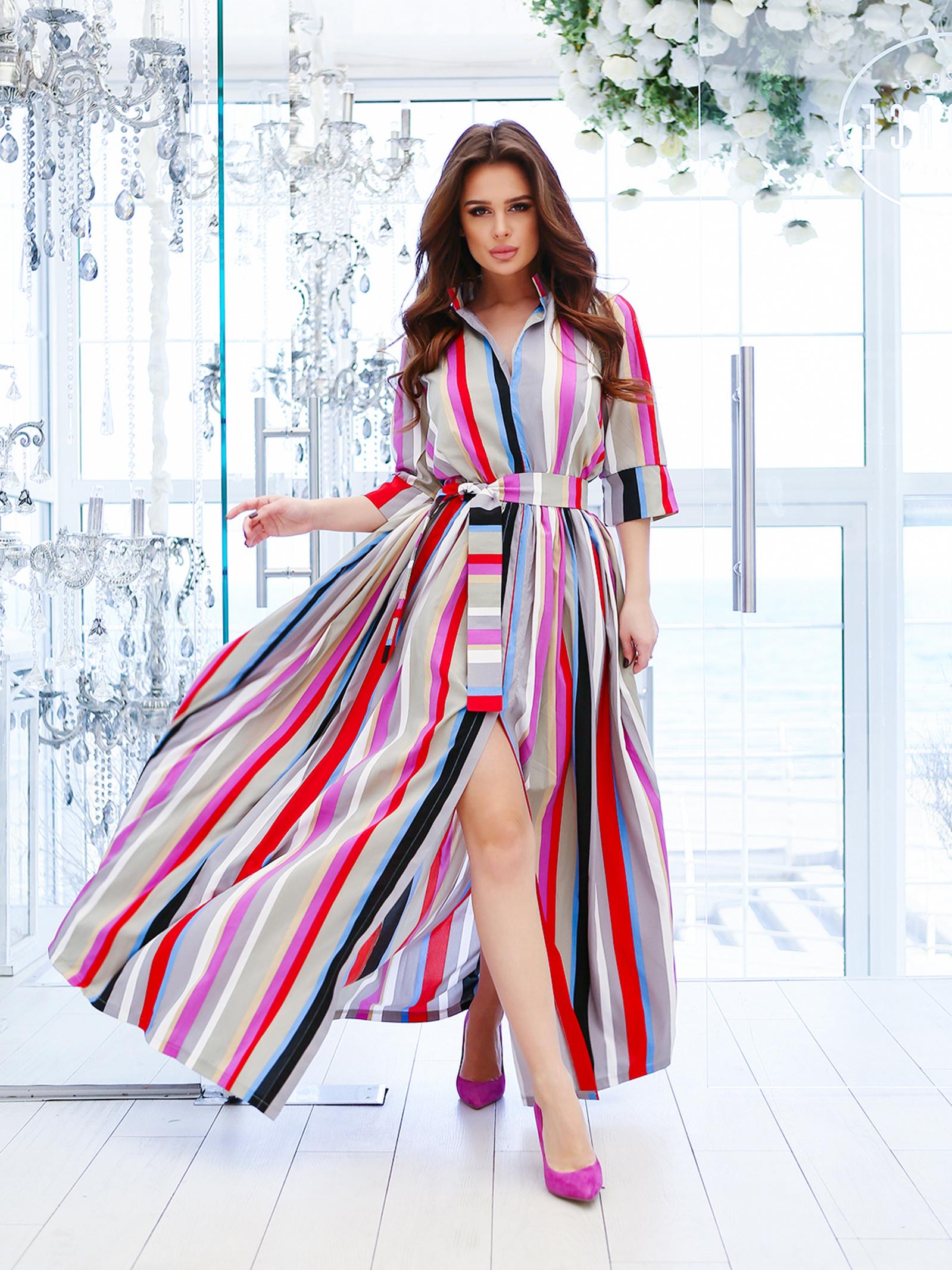 ISSA Plus Сукня жіночі модель 10772A_мультиколор характеристики, 2017