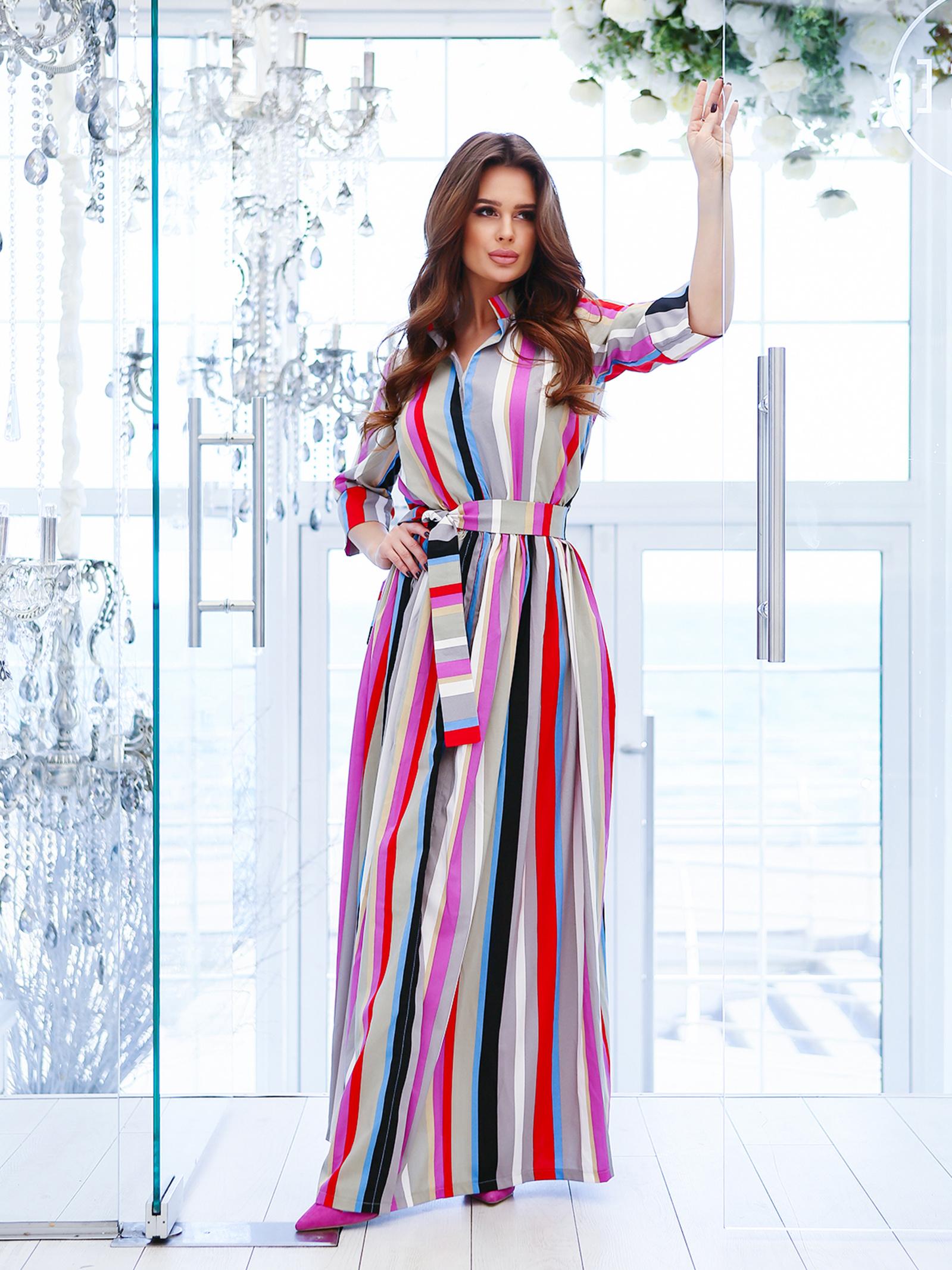 ISSA Plus Сукня жіночі модель 10772A_мультиколор якість, 2017