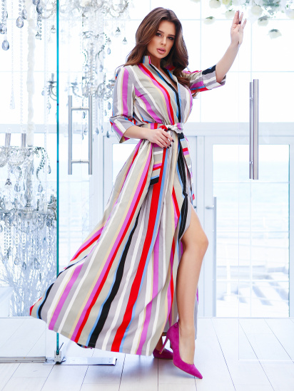 ISSA Plus Сукня жіночі модель 10772A_мультиколор , 2017