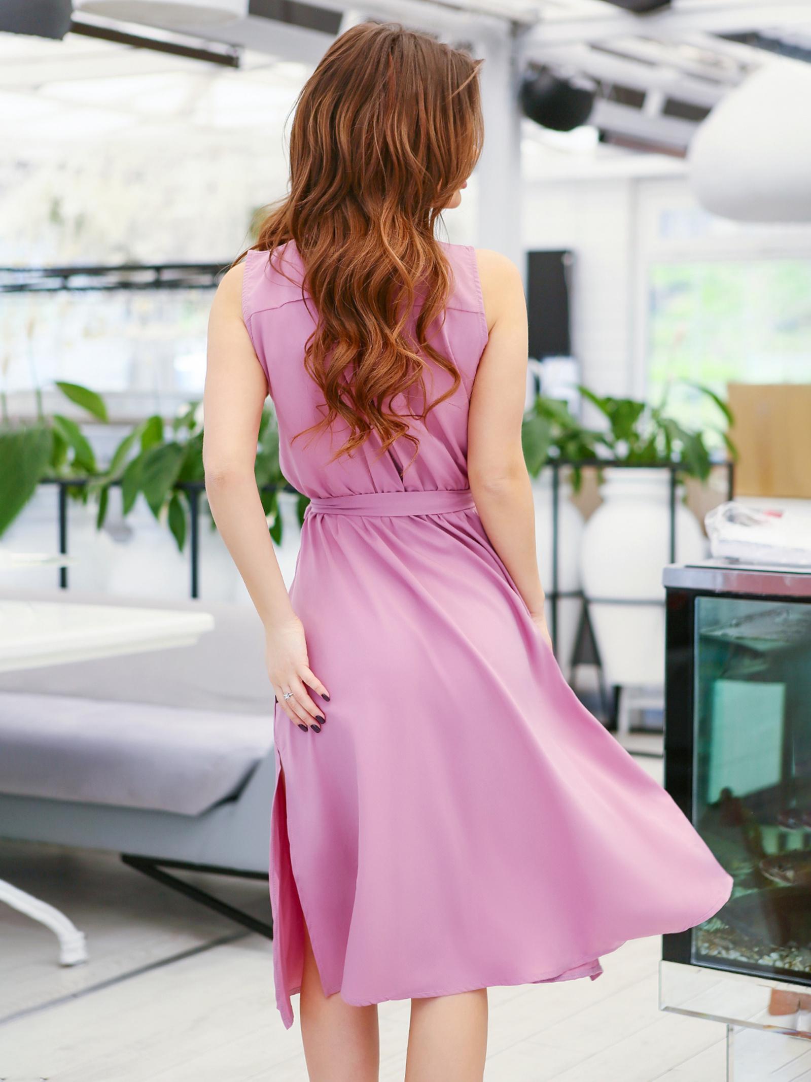 ISSA Plus Сукня жіночі модель 11626_сиреневый , 2017
