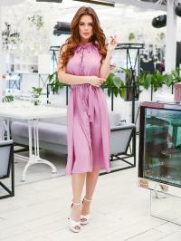 ISSA Plus Сукня жіночі модель 11626_сиреневый ціна, 2017