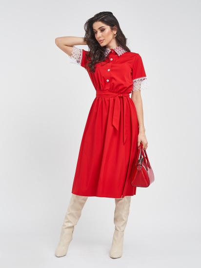 ISSA Plus Сукня жіночі модель 11439_красный відгуки, 2017