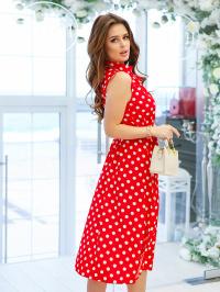 Сукня жіноча ISSA Plus модель 11619_красный - фото