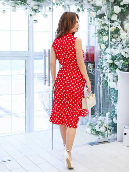ISSA Plus Сукня жіночі модель 11619_красный відгуки, 2017