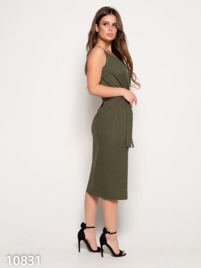 ISSA Plus Сукня жіночі модель 10831_хаки якість, 2017