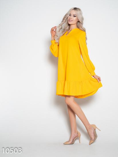 ISSA Plus Сукня жіночі модель 10503_желтый відгуки, 2017