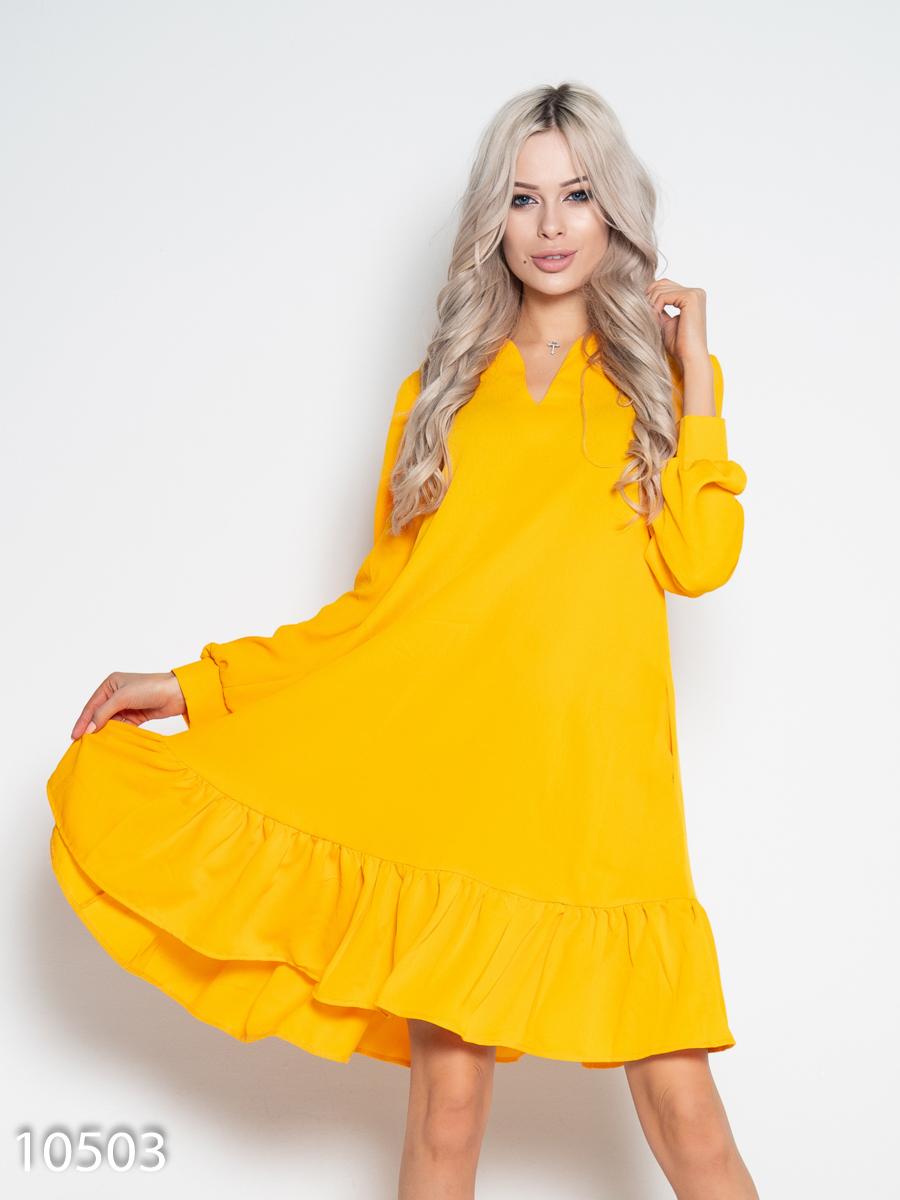 ISSA Plus Сукня жіночі модель 10503_желтый якість, 2017