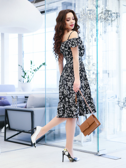 ISSA Plus Сукня жіночі модель 11599_черный відгуки, 2017