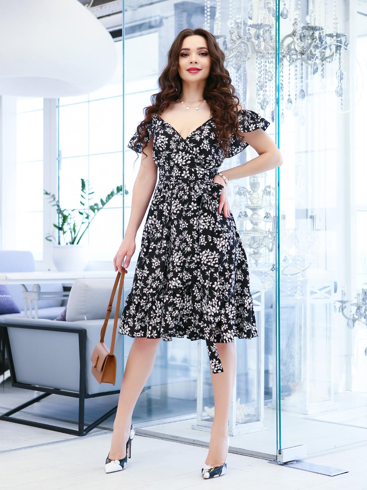 Сукня жіноча ISSA Plus модель 11599_черный - фото