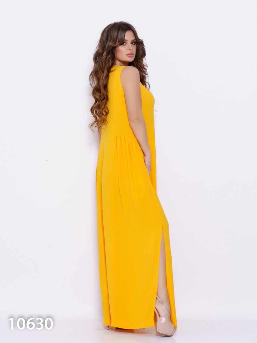 ISSA Plus Сукня жіночі модель 10630_желтый відгуки, 2017