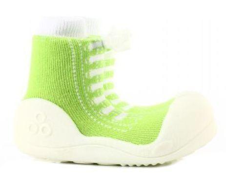 Купить Мокасины детские Attipas 1W61, -, Зеленый