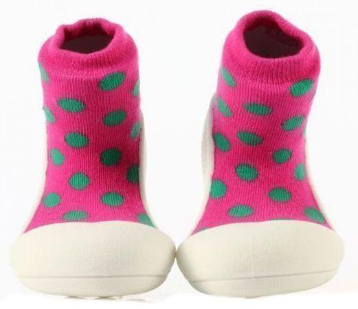 Мокасины для детей Attipas 1W69 размерная сетка обуви, 2017