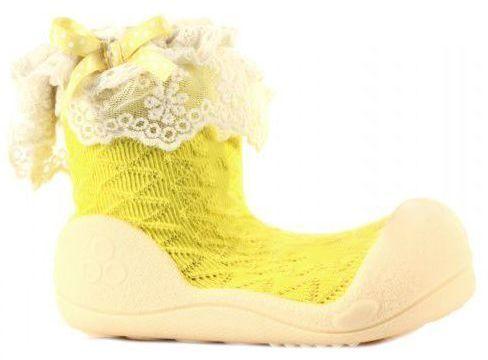 Мокасины детские Attipas 1W76, -, Желтый  - купить со скидкой