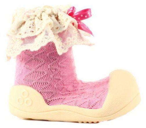 Купить Мокасины детские Attipas 1W77, -, Розовый