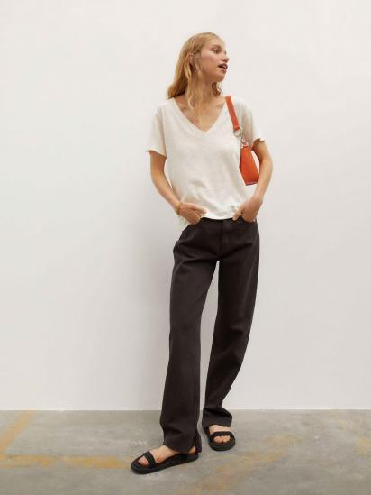 Блуза з коротким рукавом Parfois модель 190169_BG — фото 4 - INTERTOP