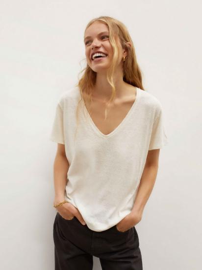 Блуза з коротким рукавом Parfois модель 190169_BG — фото - INTERTOP