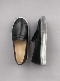 Слипоны детские Aiden Black/Grey 200-4K купить обувь, 2017