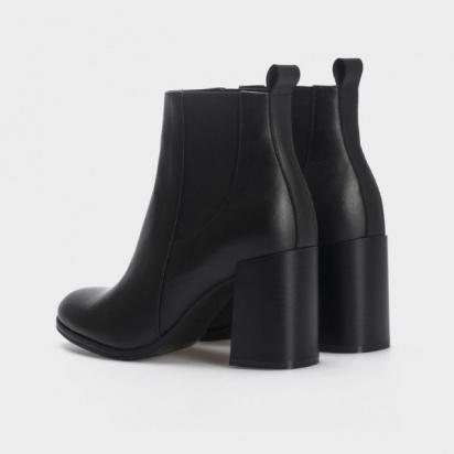 для женщин Ботильоны 2019 черная кожа. Байка 2019 цена обуви, 2017