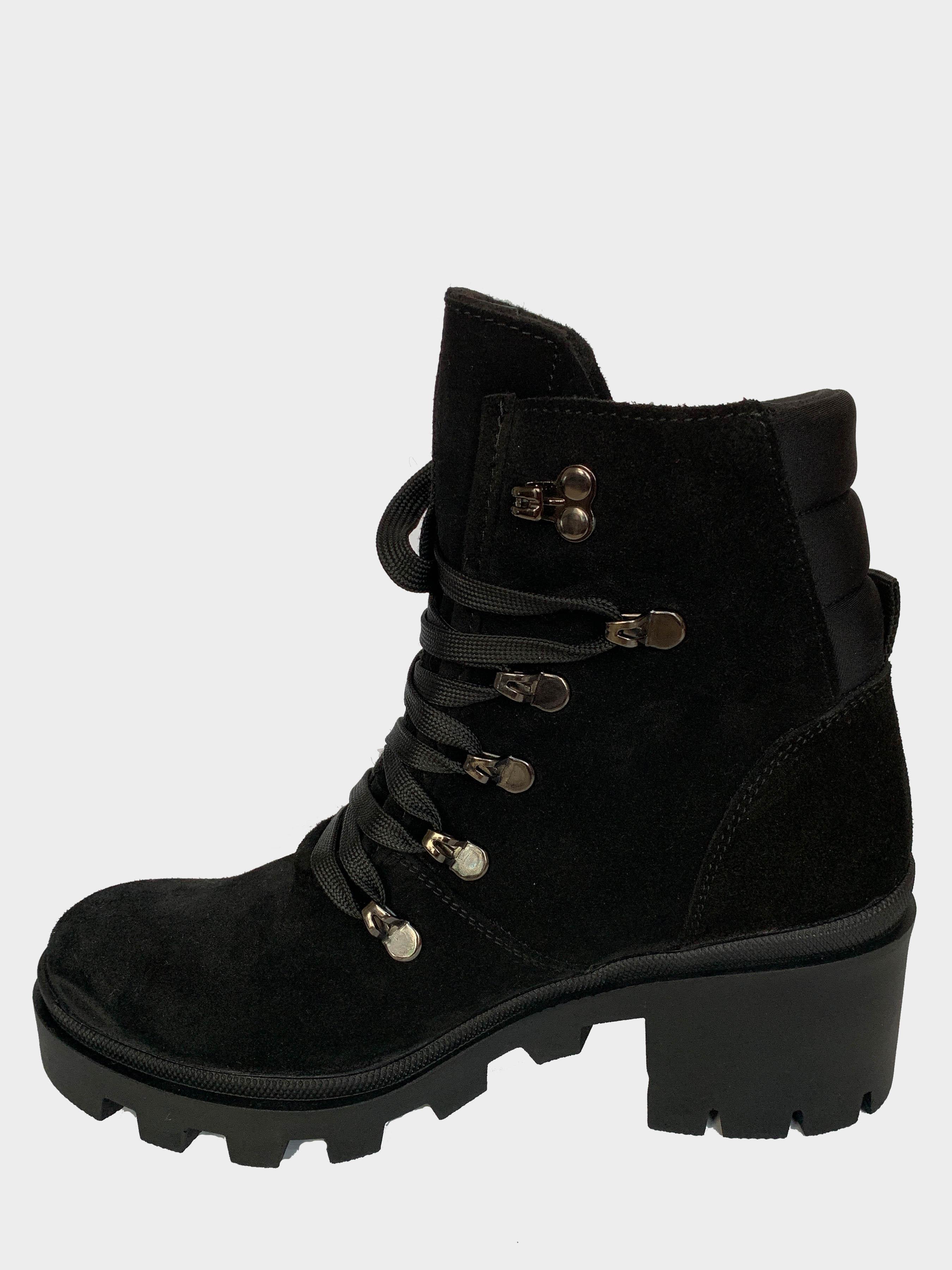 Ботинки детские Abigail Velur Black 204-1Z купить обувь, 2017