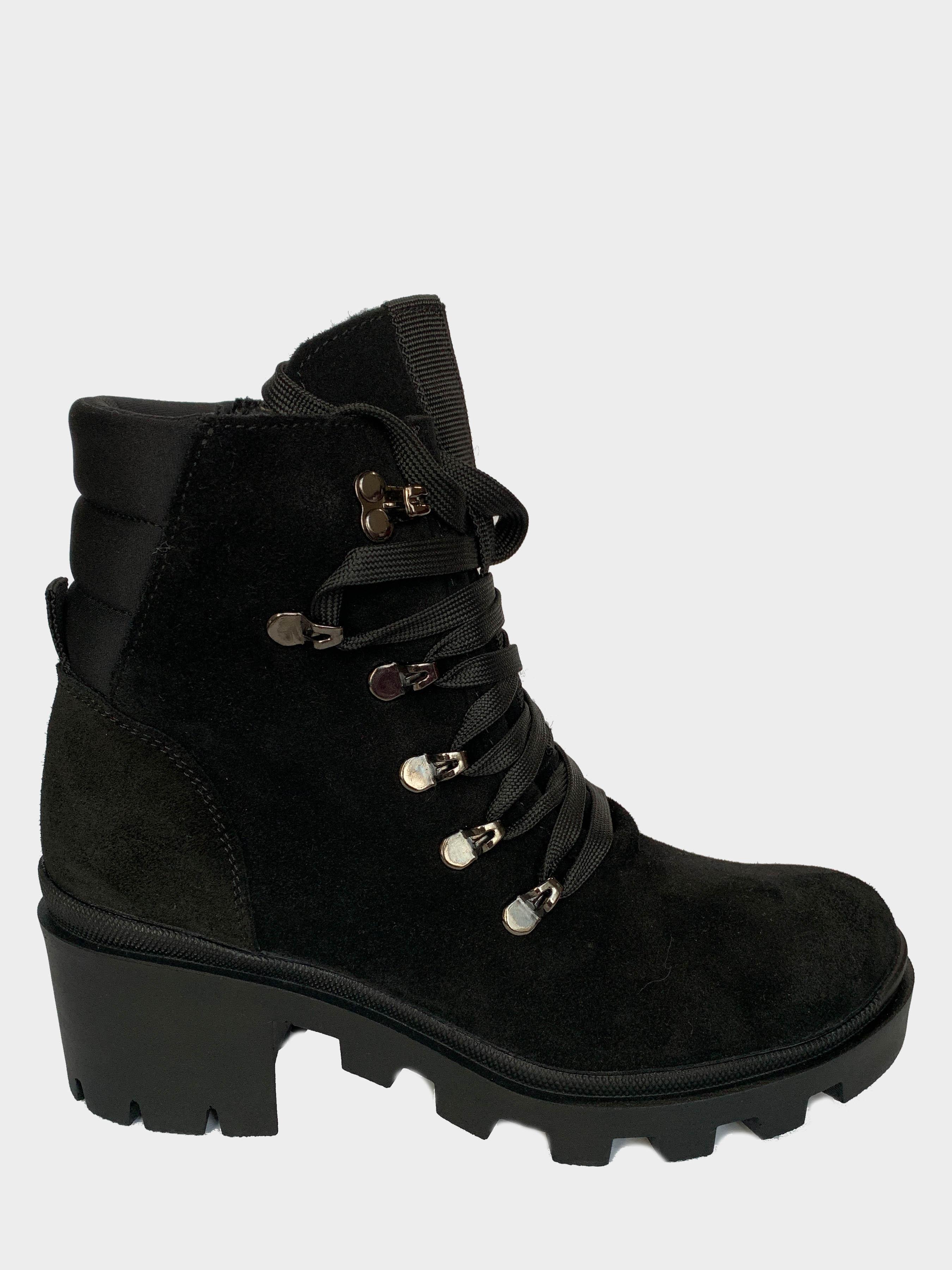 Ботинки детские Abigail Velur Black 204-1Z размеры обуви, 2017