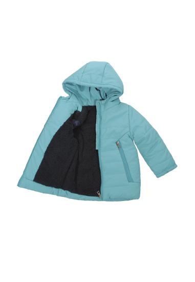 Зимова куртка Одягайко модель 20429bl — фото 3 - INTERTOP