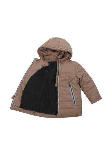 Зимова куртка Одягайко модель 20429br — фото 3 - INTERTOP